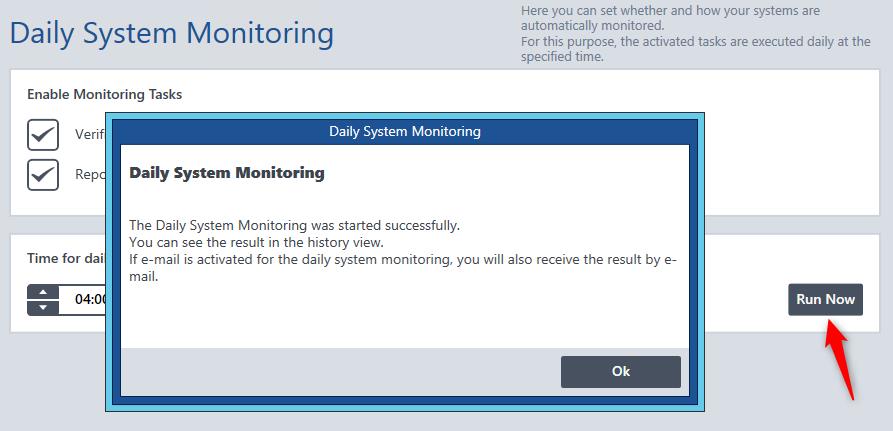 OPMONis-Screenshot-v21-SystemMonitoringRunNow